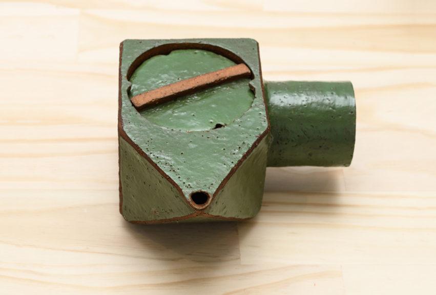 Isobel Thom teapot green
